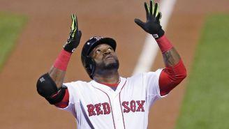David Ortiz, durante un juego con los Red Sox