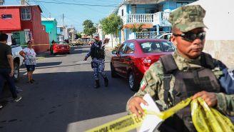Autoridades acordonan zona en que Marcos Miranda fue secuestrado