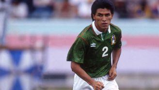 Claudio Suárez, durante la Copa América de 1993