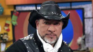 Carlos Trejo en un programa de televisión
