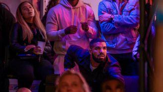 Drake sigue de cerca las acciones de los Raptors vs Golden State