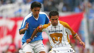 Gerardo Galindo, durante un juego con Pumas