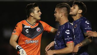 Jugadores del Veracruz en lamento