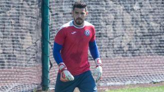 Andrés Gudiño, tercer portero de Cruz Azul para el A2019