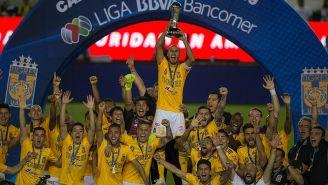 Tigres festeja su título del Clausura 2019