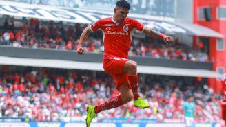 Luis Ángel Mendoz, en su paso con los Diablos Rojos del Toluca