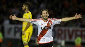 Mayada celebra anotación con River Plate