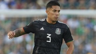 Salcedo, en un partido de la Copa Oro