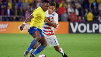Renato, en un duelo de preparación previo a la Copa América