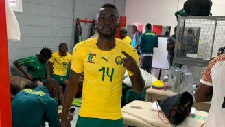 Joel Tagueu, previo a un juego con Camerún