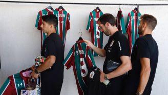 Selección de Uruguay recoge sus playeras de Fluminense