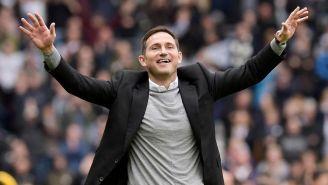 Frank Lampard en un partido con Derby County
