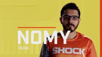 Nomy defendió al San Francisco Shock en la temporada inaugural de la Overwatch League