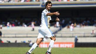 Alejandro Arribas en partido con Pumas en CU