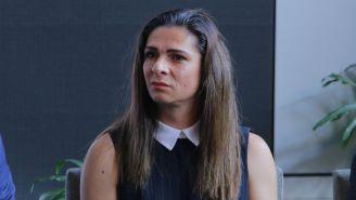 Ana Gabriela Guevara, en un evento público