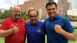 León Lecanda, Enrique Bermudez y David Medrano