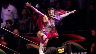 Keyra hace su entrada al ring