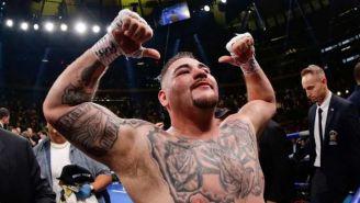 Andy Ruiz festeja Campeonato en peso pesado