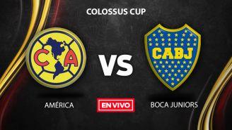 EN VIVO y EN DIRECTO: América vs Boca Juniors