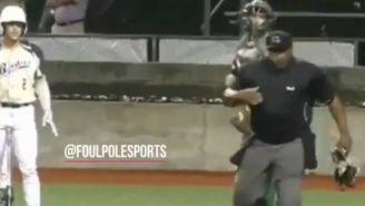 Umpire vomita durante el juego entreGenerals y Bombers