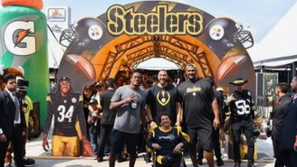Charlie Batch en el Steelers Football Camp 2019