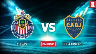 EN VIVO y EN DIRECTO: Chivas vs Boca Juniors