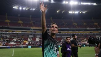 Rafael Márquez en su partido de despedida