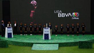 Presentación del nuevo patrocinador de la Liga Femenil