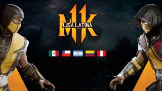 Logo de la Liga Latina de Mortal Kombat 11