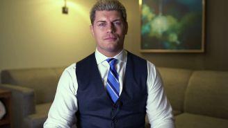 Cody Rhodes hace un anuncio para AEW