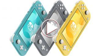 El Switch Lite estará disponible en tres diferentes colores