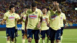 Jugadores de América se lamentan tras perder contra Santos en 2015