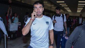 Ignacio Malcorra a su llegada a la CDMX