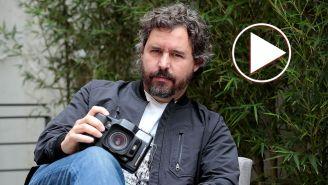 Santiago Garcés posa en sesión fotográfica
