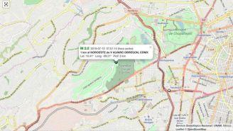 Mapa de la CDMX