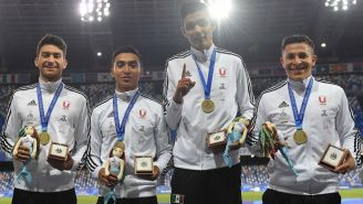 México gana Oro en Relevos Varonil 4x400 en Universiada Mundial