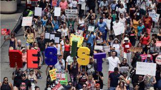 Protestas en Chicago a causa de las redadas de indocumentados