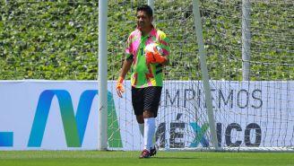 Jorge Campos, durante la presentación del balón de la Liga MX