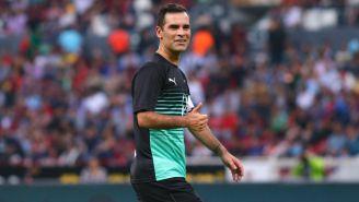Rafa Márquez durante su partido de homenaje