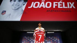 João Félix es, hasta ahora, el fichaje más caro de la Liga de España 2019-20