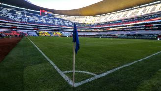 Cancha del Estadio Azteca en óptimas condiciones