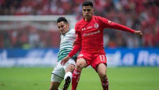 Leonel López, en su etapa como jugador del Toluca