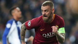 Daniele de Rossi, durante un juego contra el Porto