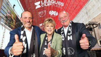Dirigentes de las ligas en presentación del evento