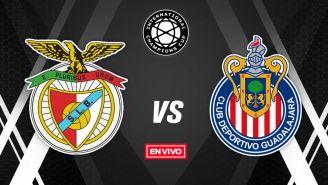 EN VIVO y EN DIRECTO: Benfica vs Chivas