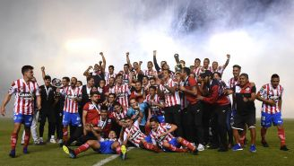 Atlético de San Luis festeja ascenso a la Liga MX