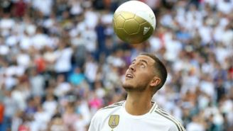 Eden Hazard, en su presentación con Real Madrid