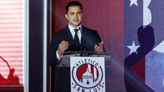 Alberto Marrero, durante una conferencia con los medios