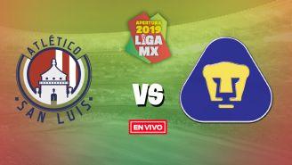 EN VIVO y EN DIRECTO: Atlético de San Luis vs Pumas