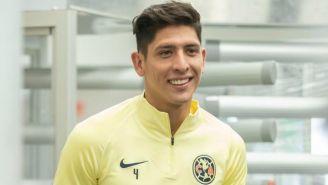 Edson Álvarez tras conferencia de prensa